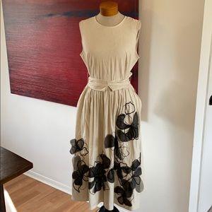 Beautiful linen blend dress